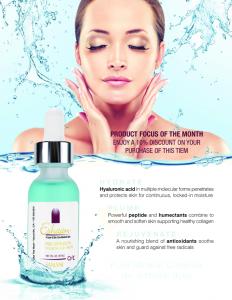 Hyaluronic Acid Serum Promotion October 2017