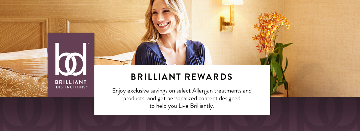 allergan brillant distinctions rewards